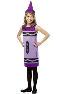 Crayola Wisteria Tank Dress Child Costume (7 10) for Halloween   Pure