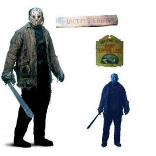 Friday The 13th Jason Add Ons   Includes 4 count plastic Friday The