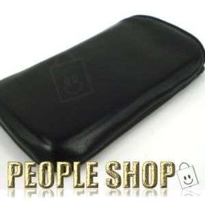 Soft Leatherette Pouch Case Cover for Samsung CorbyPlus B3410
