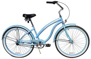 New 26 3 SPEED beach cruiser bicycle bike Bella 3spd