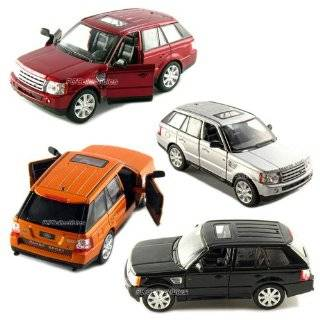 Range Rover Sport Remote Control Car in Red Scale 1/24