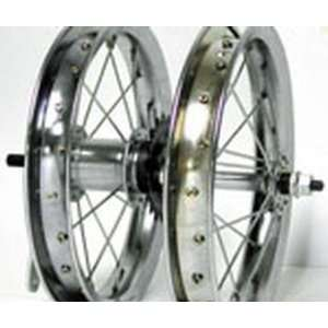 12 1/2x2 1/4, Rear, C/B, Chrome, Steel, Wheel