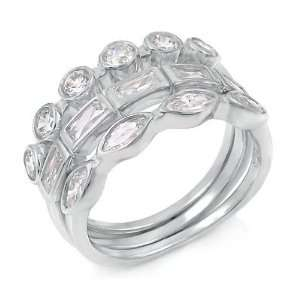Three Piece Engagement Set, 2.25 Total Carat Weight, Ring Size   (5