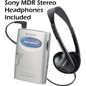 Sony Walkman Compact Portable Lightweight AM/FM Stereo Radio