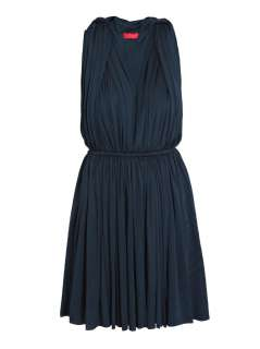 Techno jersey Grecian dress  Lanvin