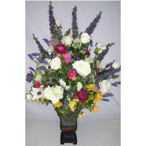 Giant 48 Mixed Silk Flower Arrangement