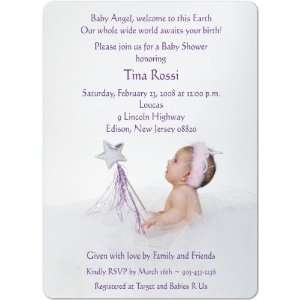Sweet Princess Magnet Small Baby Shower Invitations Baby