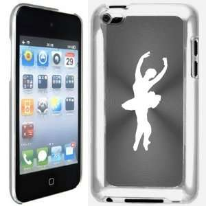 4G 4th Generation Silver Grey B659 hard back case cover Ballet Dancer