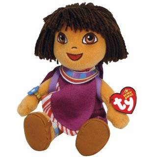 TY Beanie Babies Dora   Dora World Adventure China: Toys
