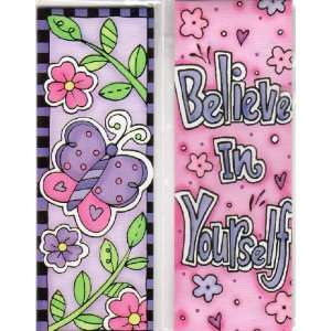 Magnetic Bookmarks  Believe In Yourself   Set of 2