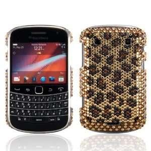 & 9930 Bold Touch Brown Gold Leopard Skin Handmade Crystal Gemstone