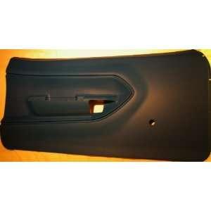 74 interior Barracuda DOOR PANELS  Injection molding Black Automotive