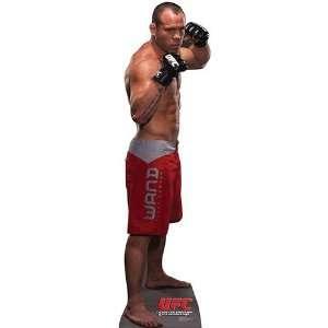 Wanderlei Silva   UFC   Lifesize Cardboard Cutout Toys & Games