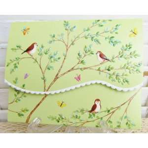 Carol Wilson Spring Birds Boxed Note Card Set 10 Ct.