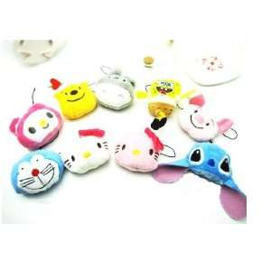 Cute Hello Kitty Face Cell Phone Charms/Phone Chain/Phone