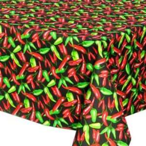 Chili Peppers (green) Table Cloth   60 x 60