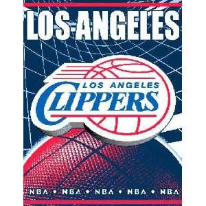 Los Angeles Clippers Game Time Woven Jacquard Throw