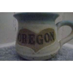 Oregon Handmade Pottery Mug Coffee Cup Collectible 3