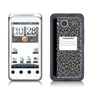Composition Notebook Design Protector Skin Decal Sticker