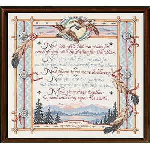 Apache Wedding Blessing Counted Cross Stitch Chart