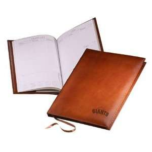 San Francisco Giants Tan Leather Day Planner