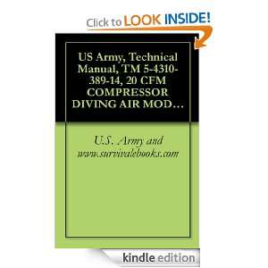 US Army, Technical Manual, TM 5 4310 389 14, 20 CFM COMPRESSOR DIVING