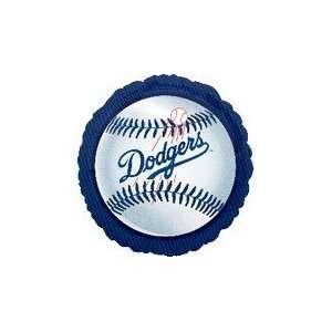 18 MLB Los Angeles Dodgers Baseball   Mylar Balloon Foil