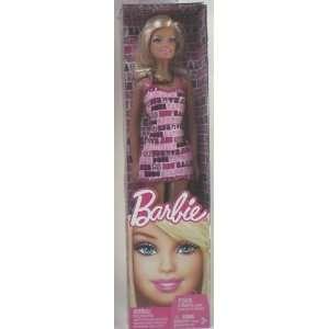 Pink Barbie Dress Basic Barbie Doll Toys & Games