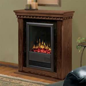 Dimplex Bravado Nutmeg Electric Fireplace Mantel Package