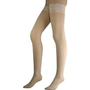Womens White Lace Fishnet Thigh High Stockings Toys
