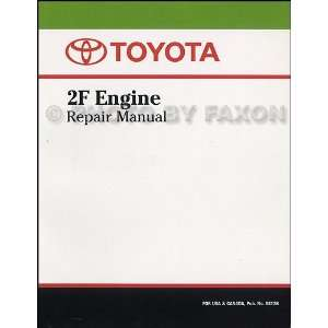 1975 1981 Toyota Land Cruiser Engine Repair Shop Manual Original 98126