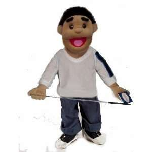 30 Ricky Hispanic Boy Full/half Body Puppet Rem. Legs: Toys & Games