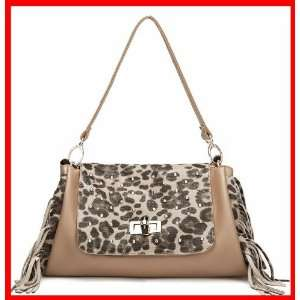 Genuine Leather Purse Shoulder Bag Handbag Satchel Animal