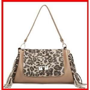 Genuine Leather Purse Shoulder Bag Handbag Satchel Animal
