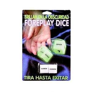 Glow In The Dark Dice Spanish Version Health & Personal