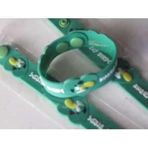 Angry Birds Silicone Rubber Bracelet Green Color: Everything Else