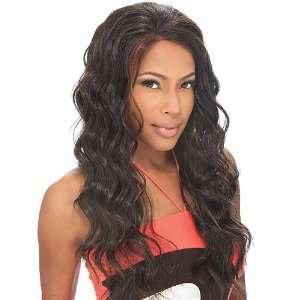 Front Wig FreeTress Equal Natural Hair Line Esha Color P1B/33 Beauty