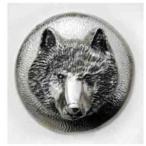 Wolf Gas Cap Cover for stock Harley Davidson