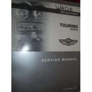 Touring Model Service manual, part # 99483 03A): Harley Davidson