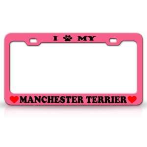 I PAW MY MANCHESTER TERRIER Dog Pet Animal High Quality