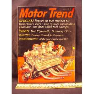 30 DuPont, 1280 HP street machine, & Ford Falcon) Motor Trends Books