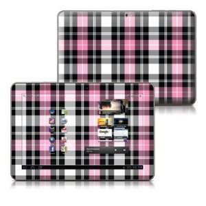 Pink Plaid Design Protective Skin Decal Sticker for