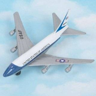 InAir Air Force One Boeing 747 diecast metal replica: Toys