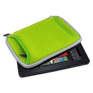 Mivizu  Kindle Fire neoprene sleeve case cover with front zipper
