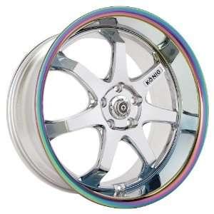 18x8 Konig After Burner (Chrome w/ Prizma Lip) Wheels/Rims