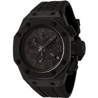 Swiss Legend Mens 10541 BLK Trimix Diver Collection Chronograph Black