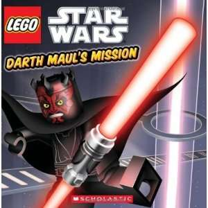 Lego Star Wars Darth Mauls Mission [Paperback] Scholastic Books