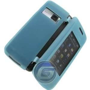 New Light Blue Soft Gel Skin Cover LG Voyager VX10000