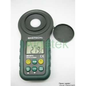 Brand New Mastech Ms6612 High Precision Luxmeter Light Meter Fc Auto