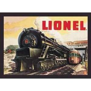 RAILROAD Lionel Train Metal Tin Sign 5200 Nostalgic